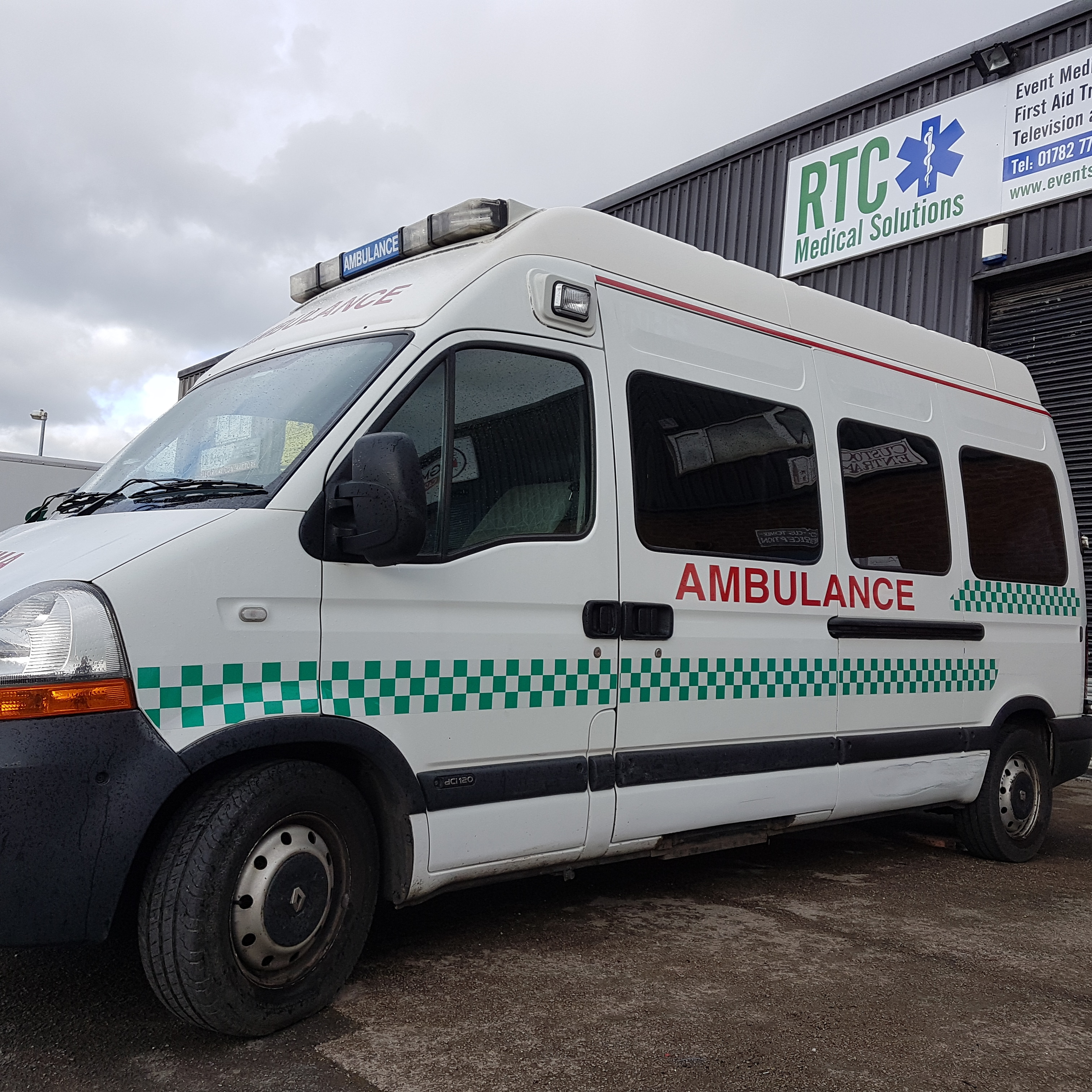 Staffordshire Ambulance